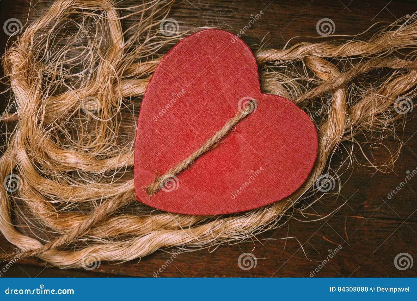 Coeur rouge - symbole des histoires d amour