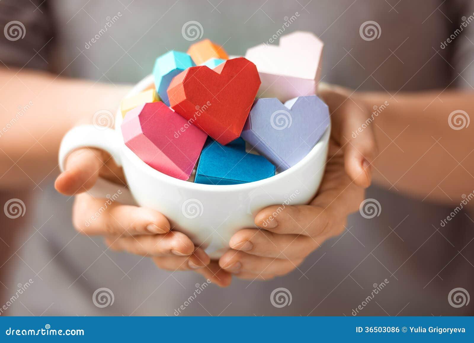 Coeurs à disposition