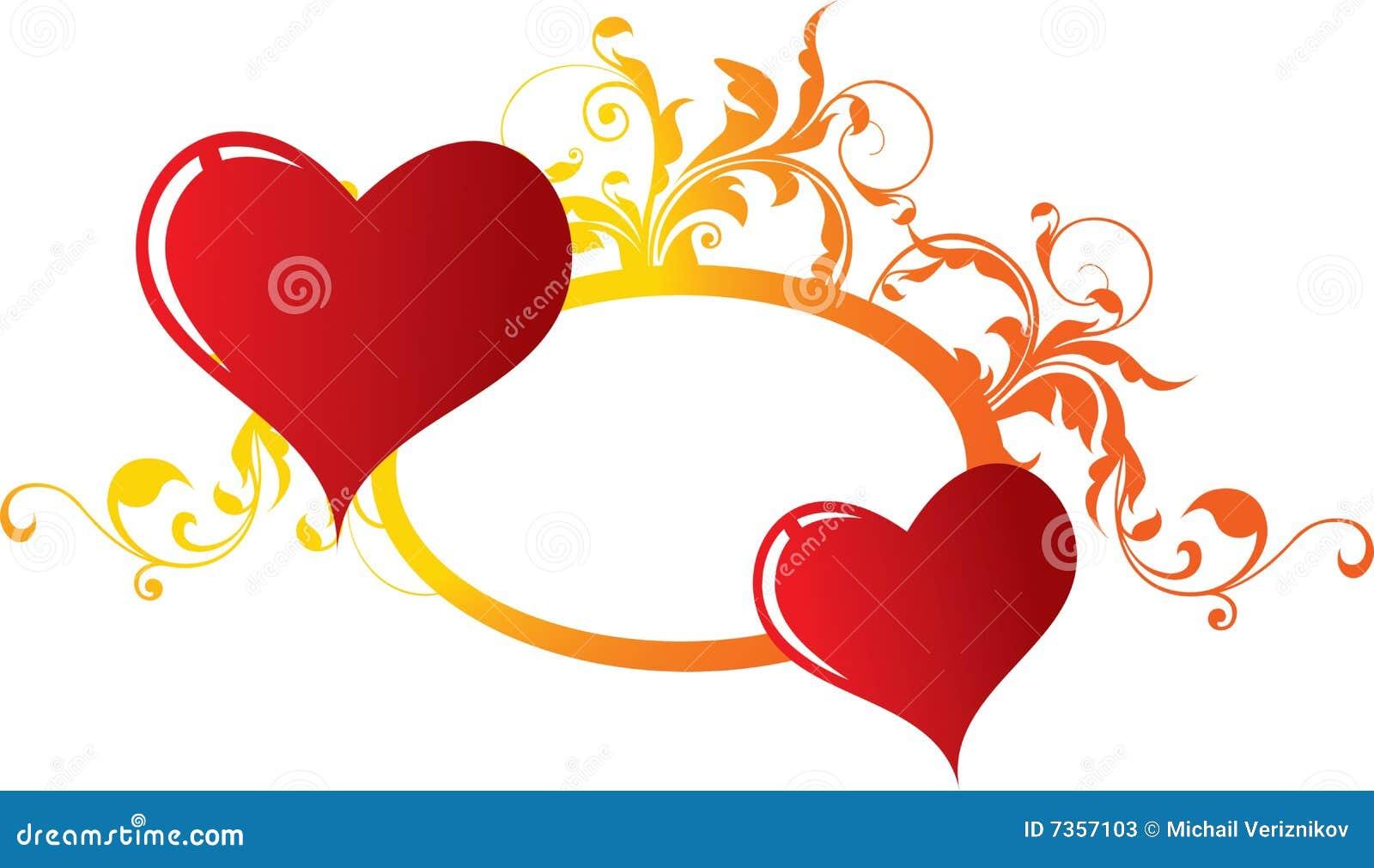 Coeurs amoureux deux photos stock image 7357103 - Coeurs amoureux ...