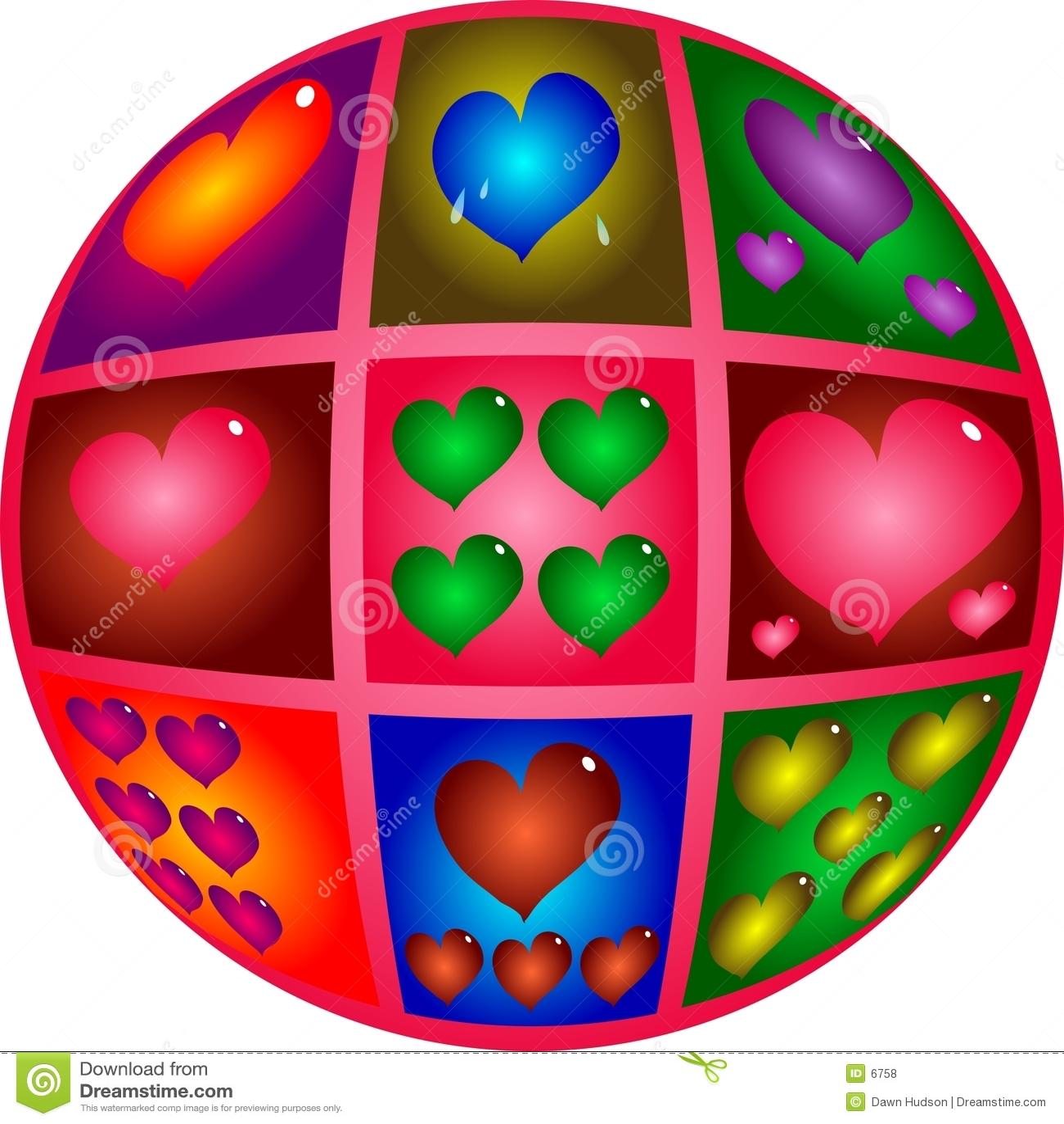 Coeurs de Valentine
