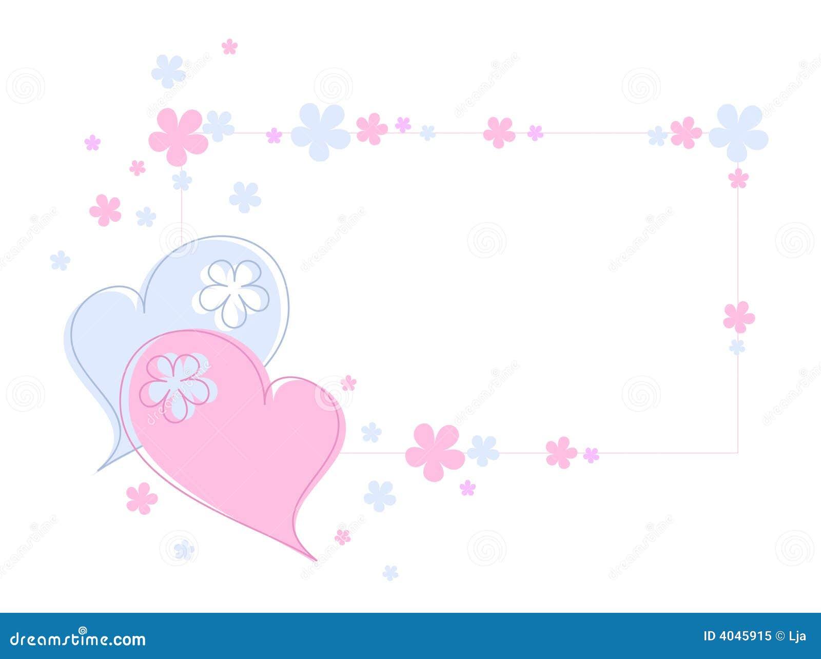 Coeurs et fleurs