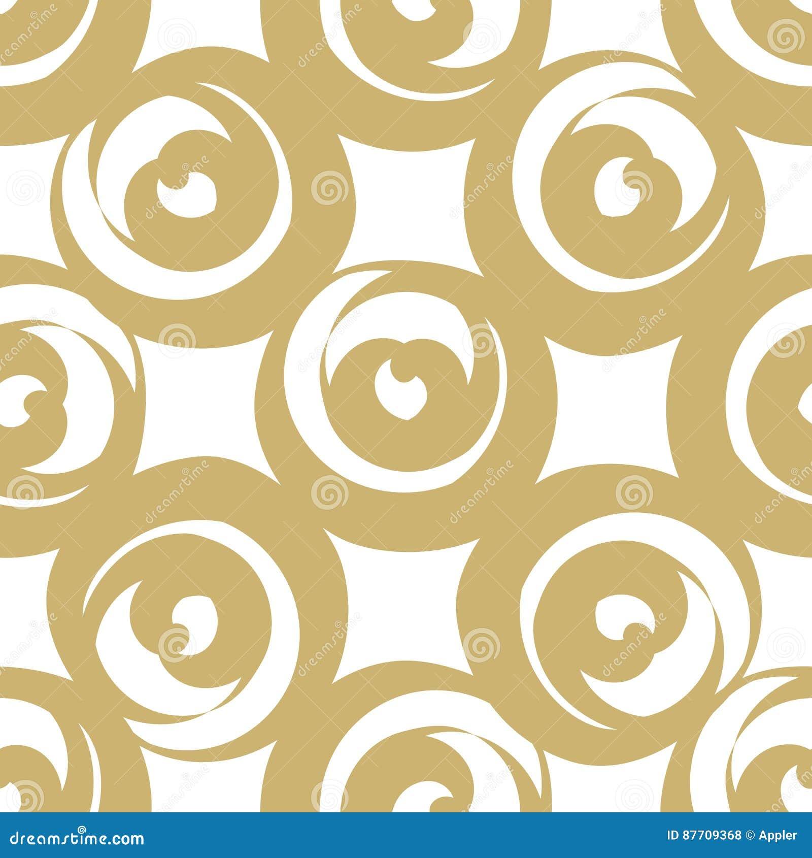 Coeurs formés ronds d or