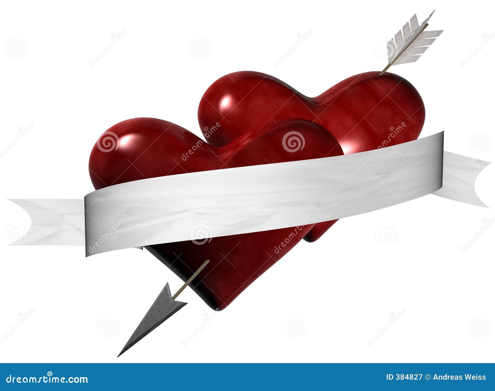 Coeurs percés