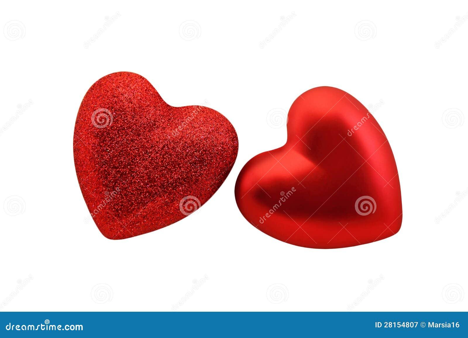 Coeurs rouges pour St Valentine