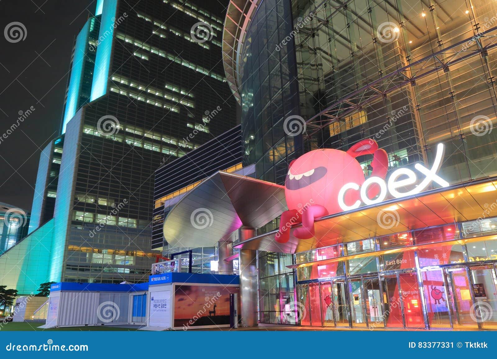 COEX Shopping Mall Gangnam Seoul South Korea Editorial Photo - Image ...