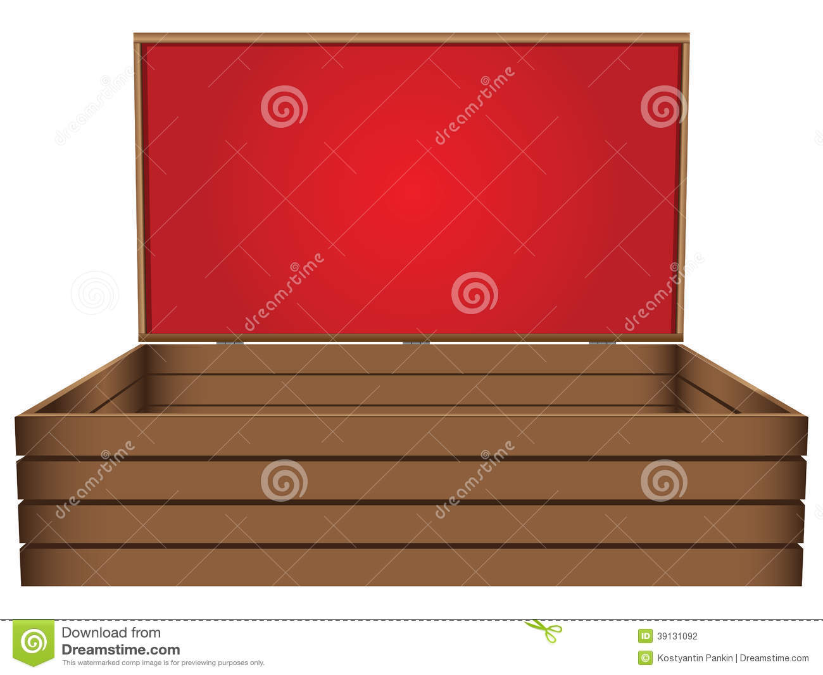 Cofanetto di legno