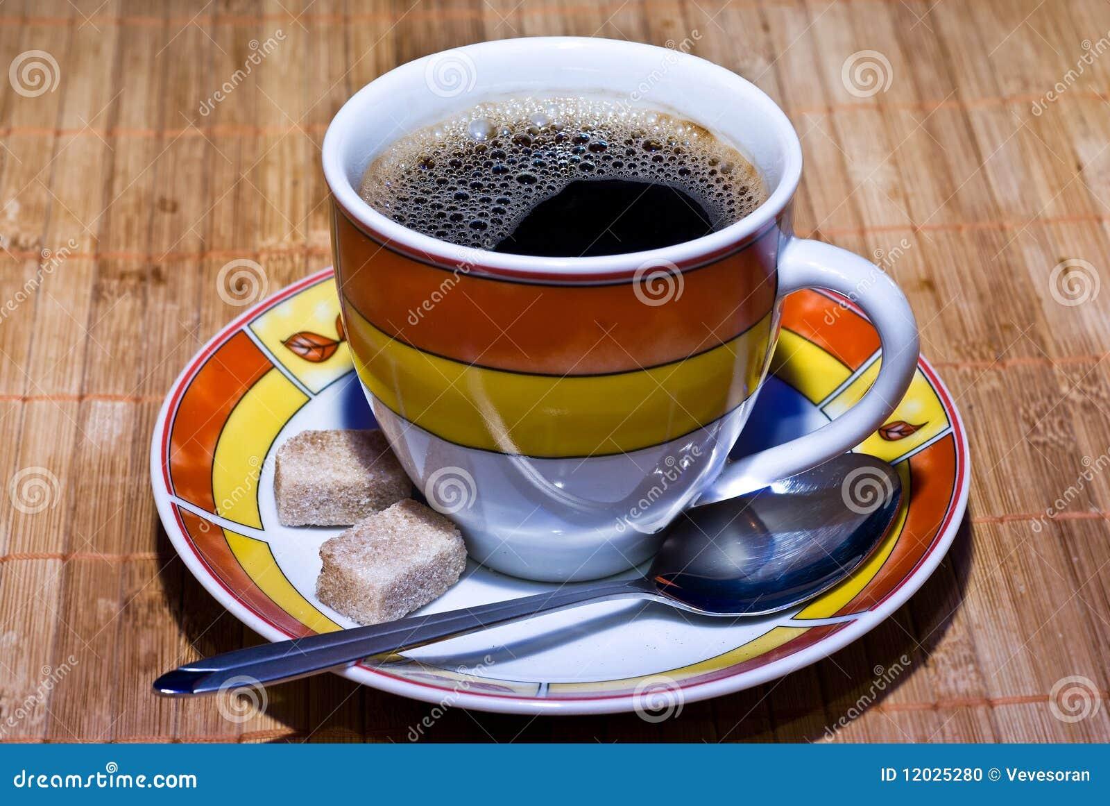 Cofee and sugar