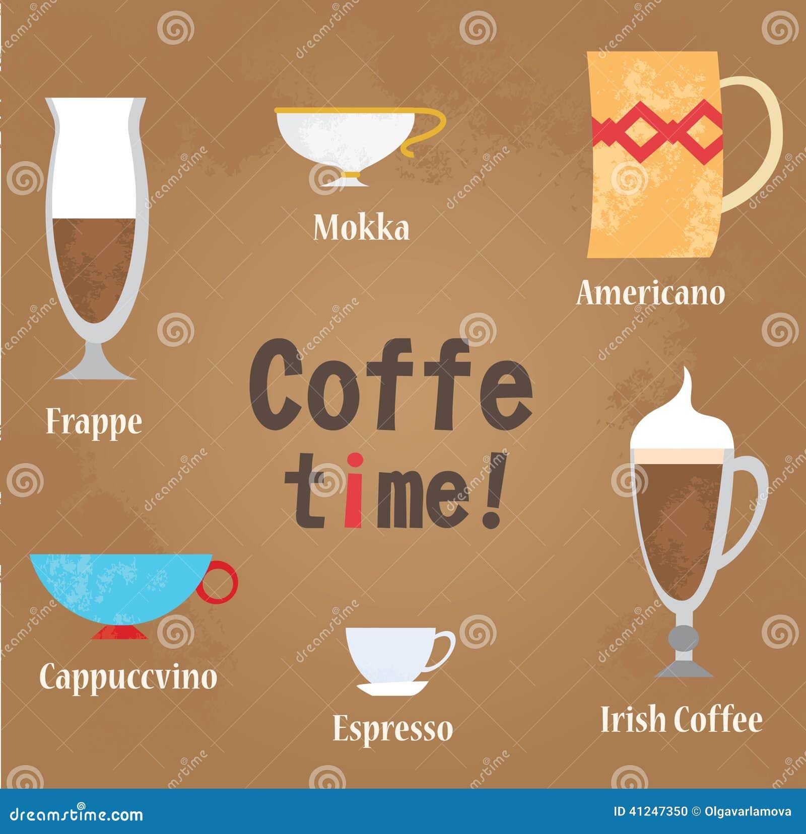 Coffe Shop Set. Vector Illustration. Cartoon Vector