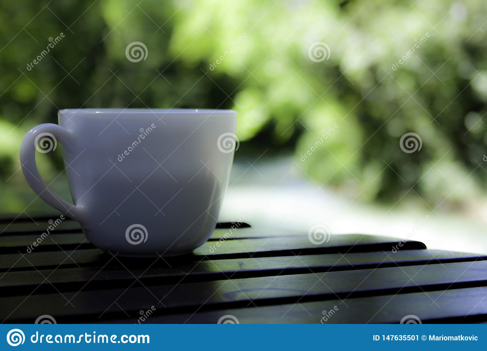 Coffe time on my smooth wooden table