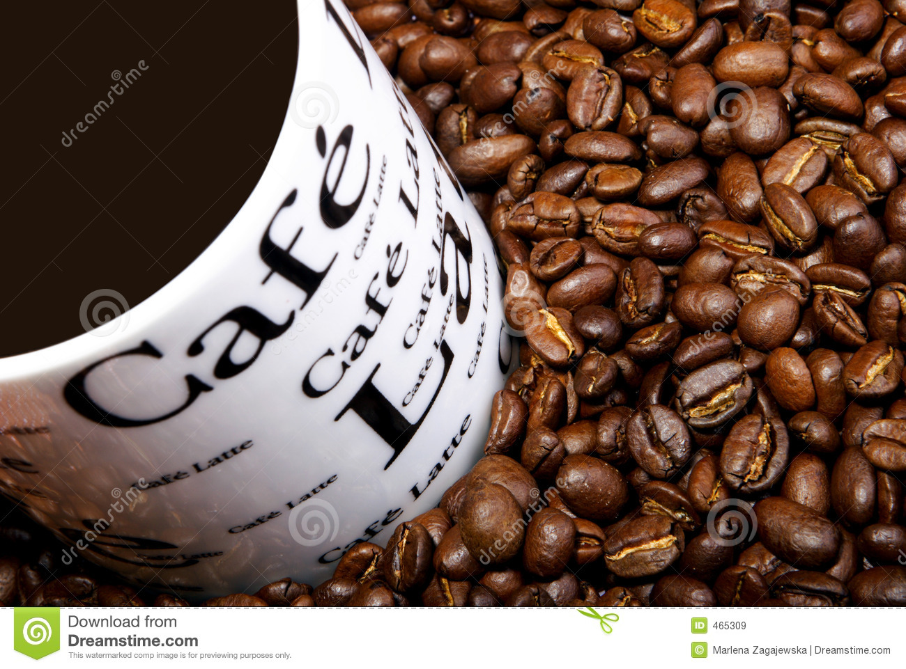 Download Coffee stock image. Image of decoration, breakfast, food - 465309