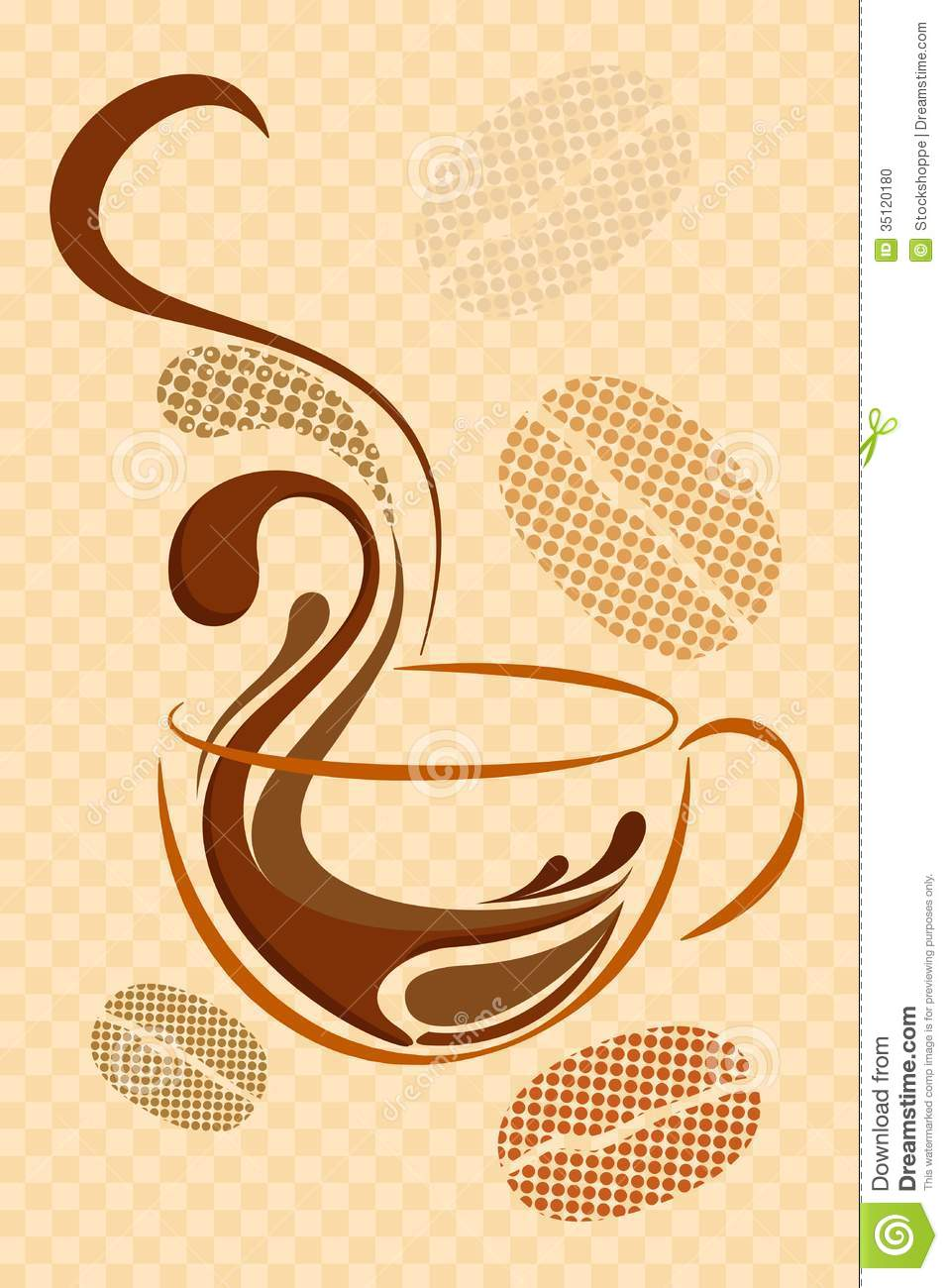 coffee background stock illustration image of meal