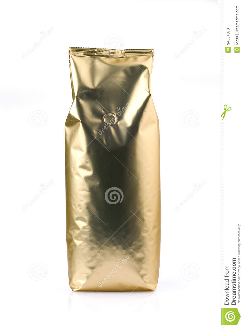 how to open coffee bean bag