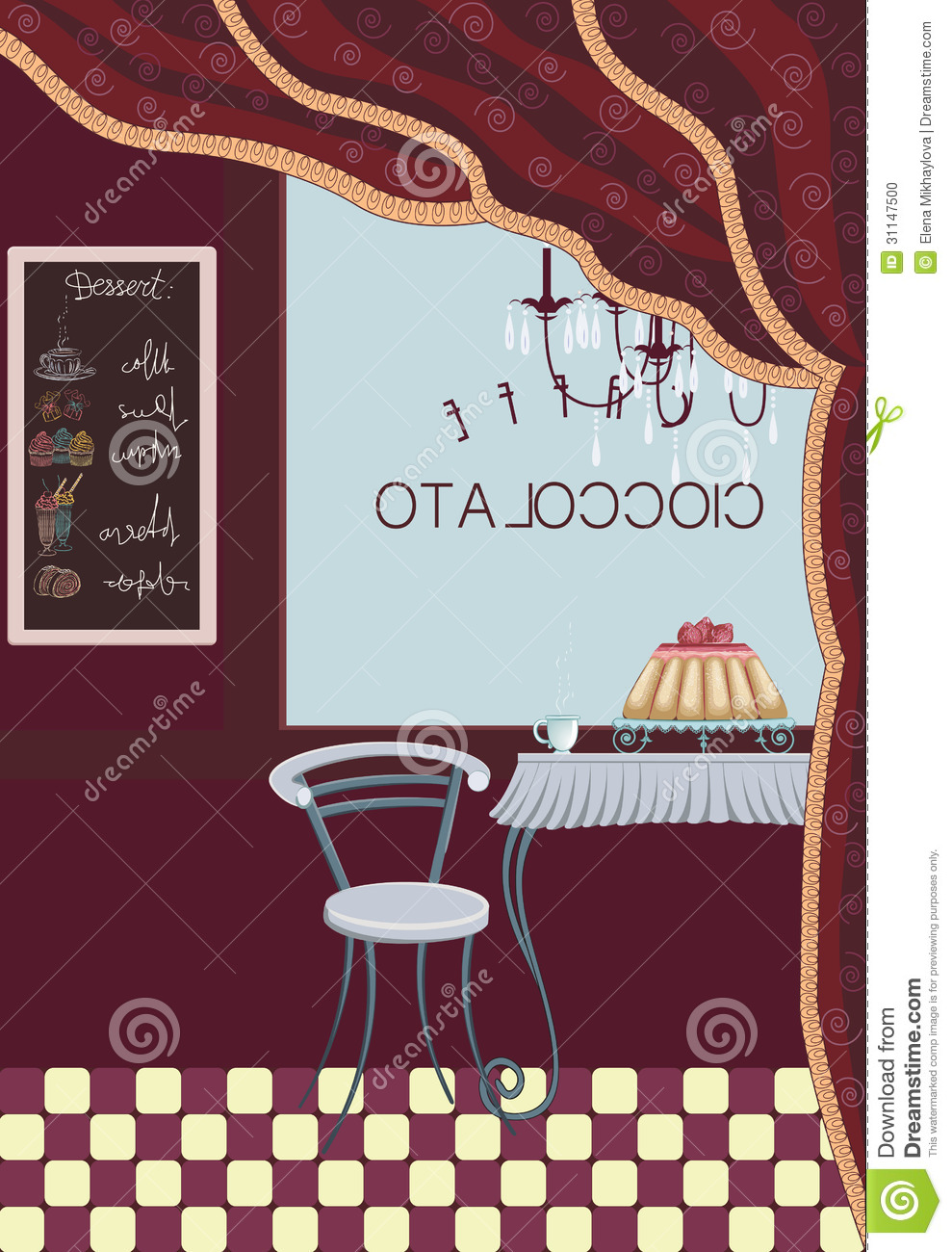 Coffee Bar Stock Vector Illustration Of House Gourmet 31147500