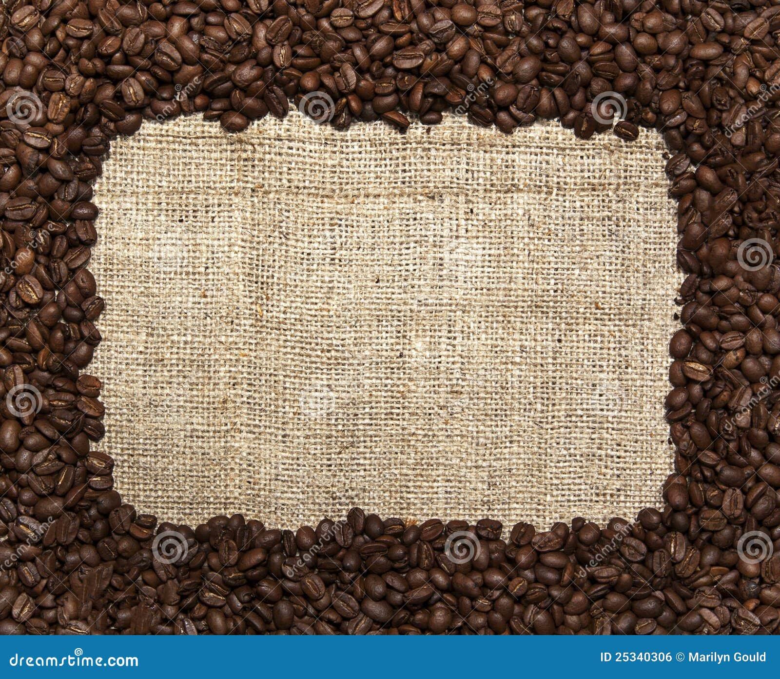 Coffee Bean Clip Art Border