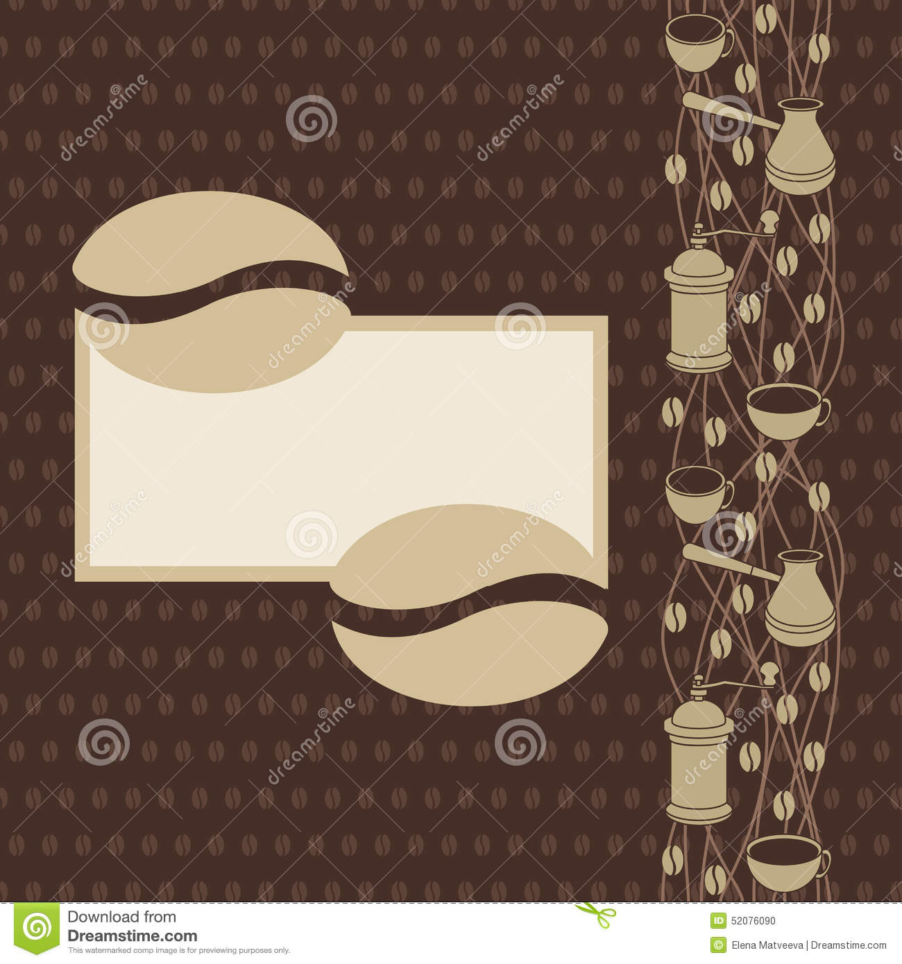 coffee bean coloring page - coffee bean page stock vector image 52076090