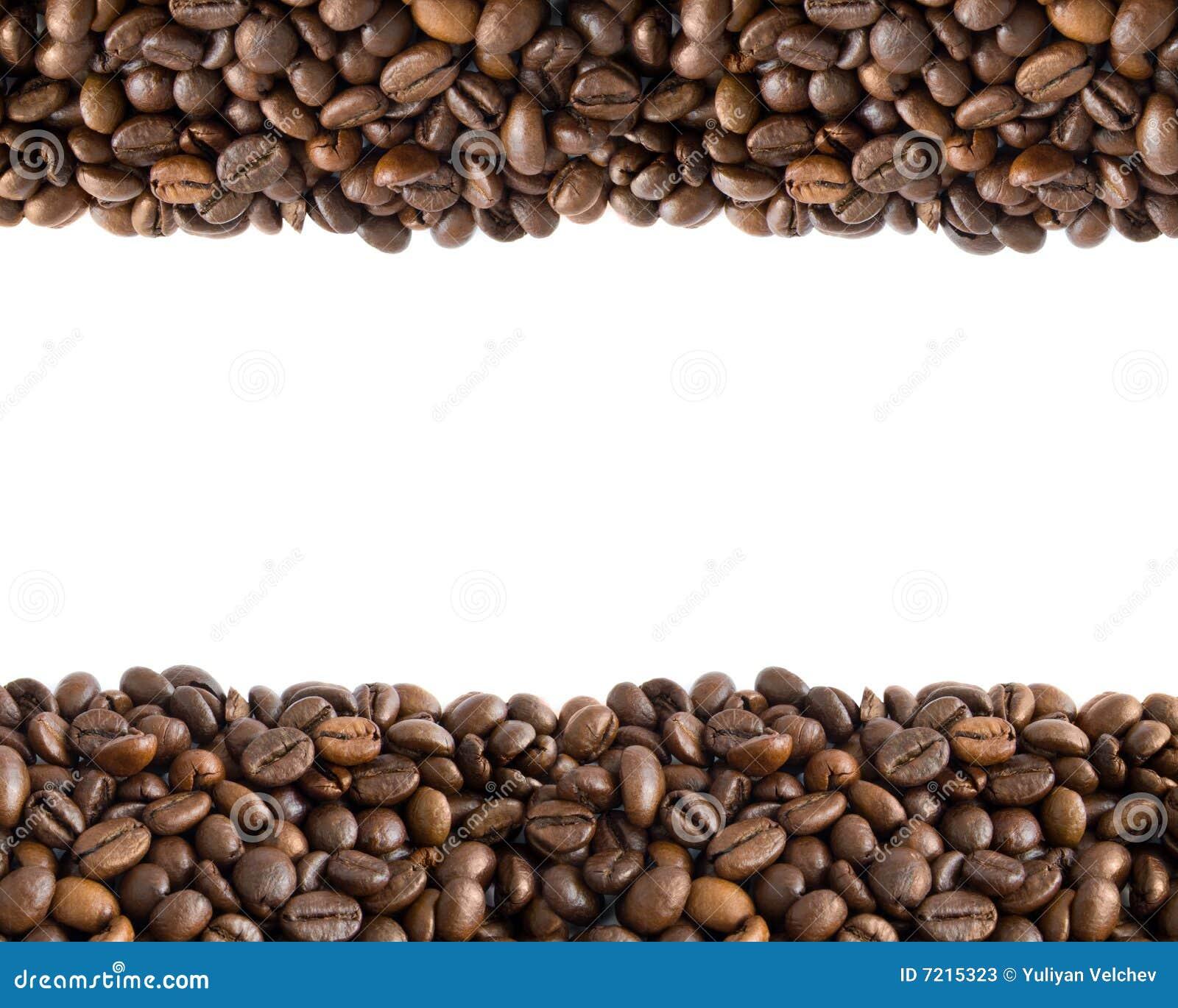 Coffee Bean Border ~ Coffee beans border stock photos image