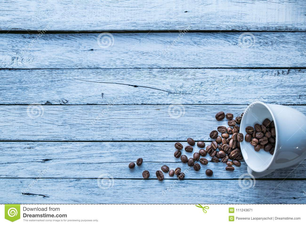 Coffee beans,coffee cup.