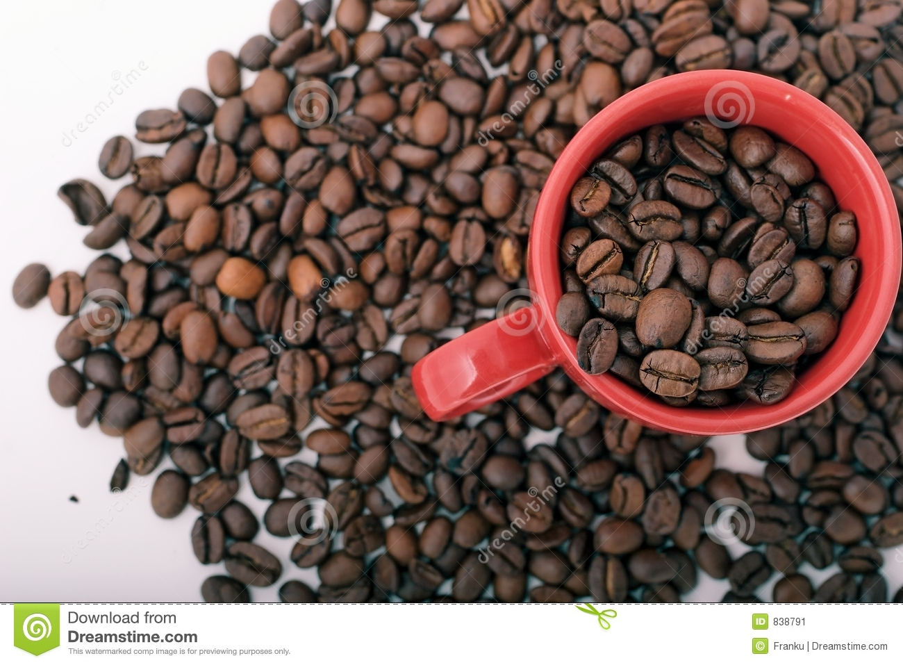 Coffee Beans and mug