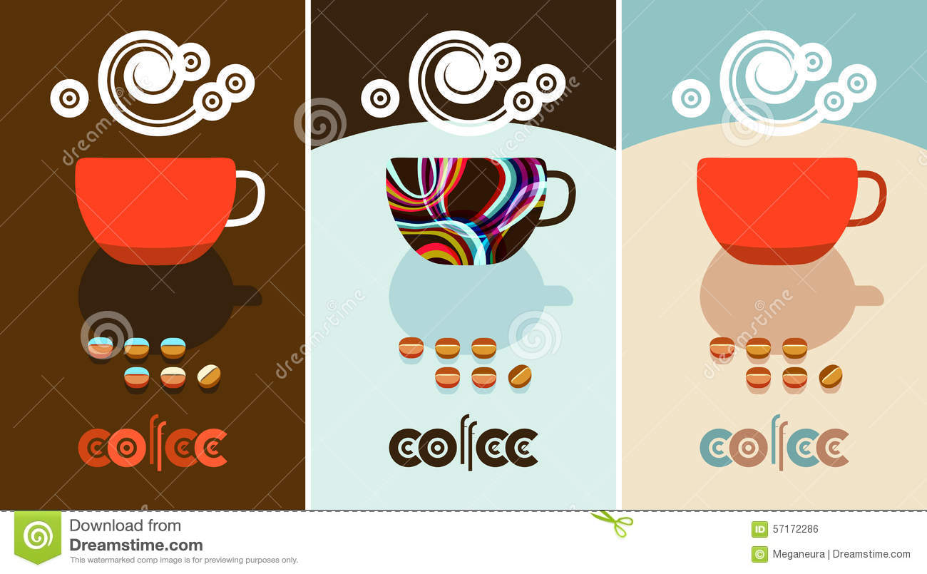Brown Coffee Cup Logo