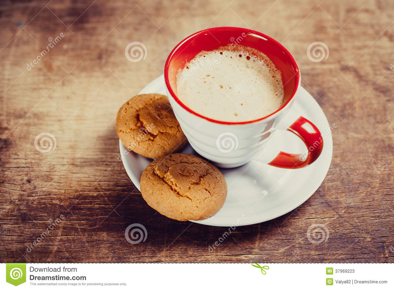 Coffee And Biscuits Stock Photos - Image: 37969223