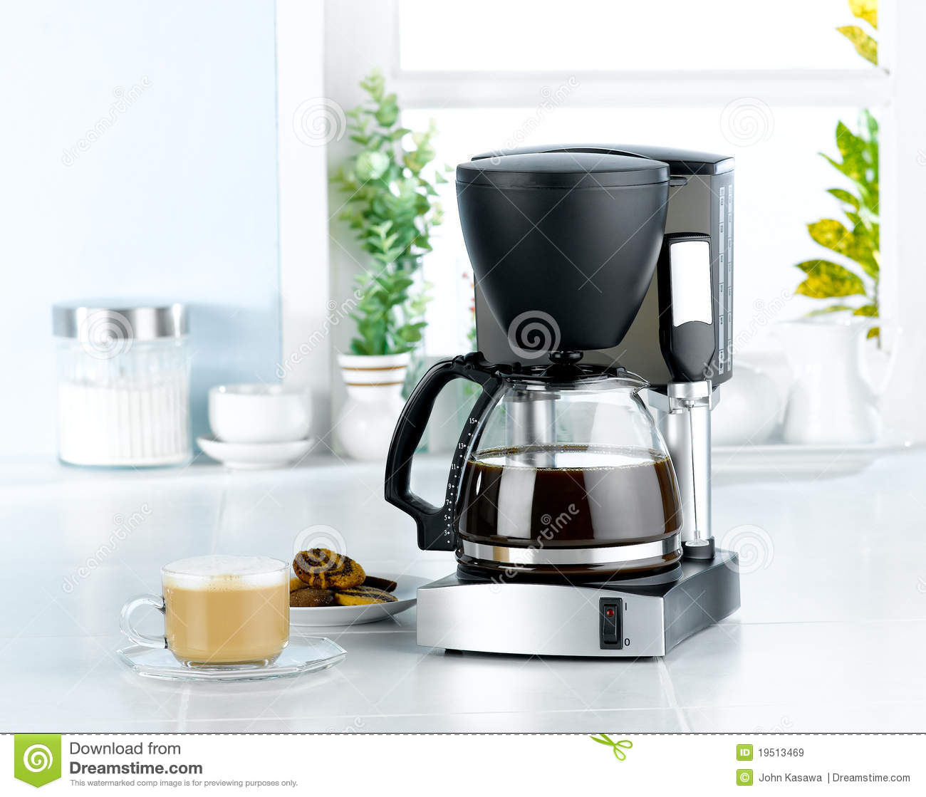 Coffee blender machine