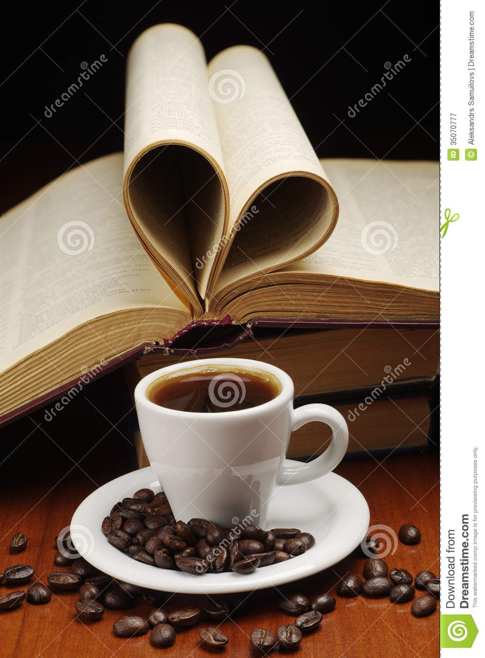 Coffee And Book Royalty Free Stock Photography Image
