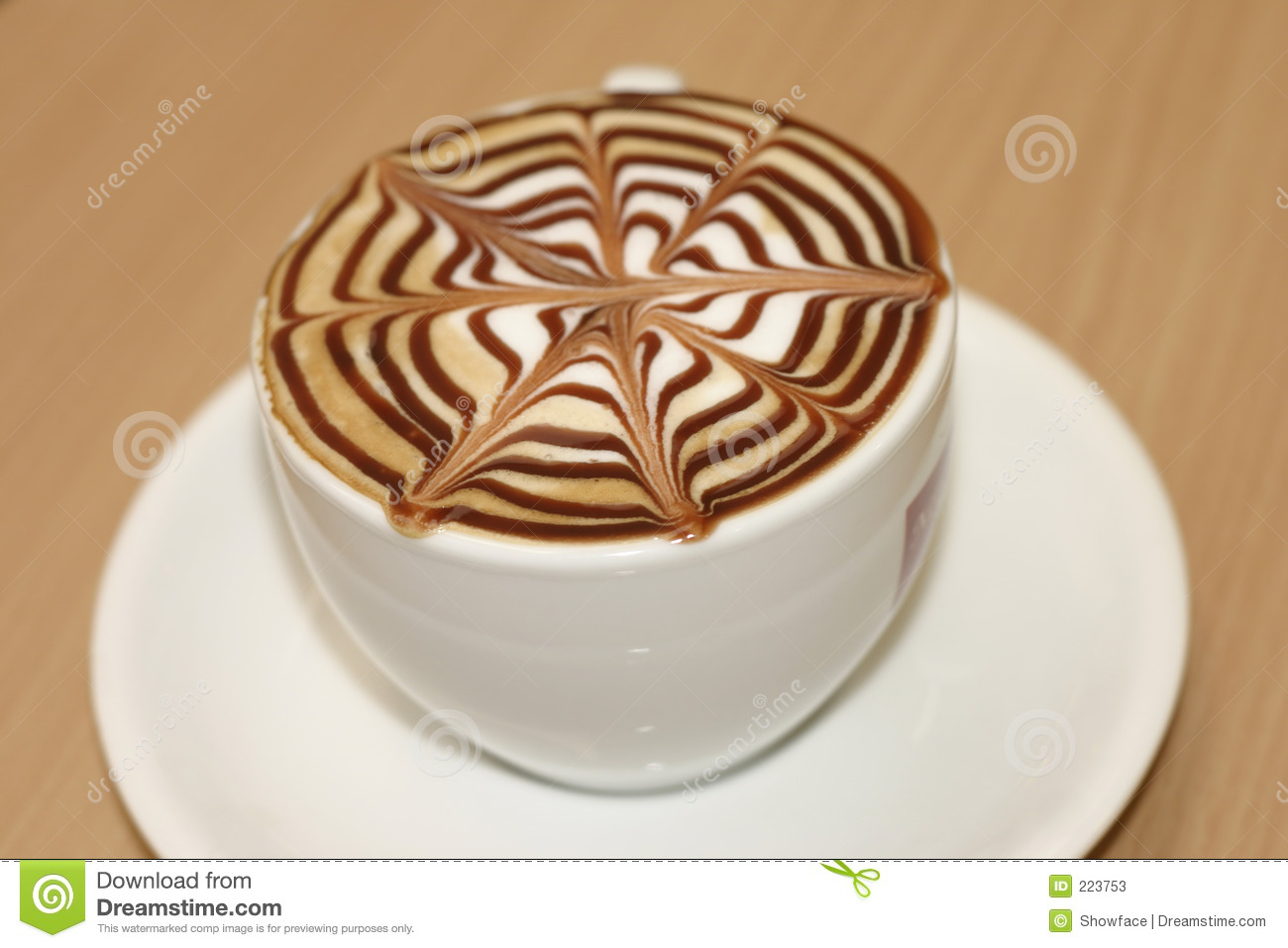 coffee break stock image image of saucer breakfast mocha 223753. Black Bedroom Furniture Sets. Home Design Ideas
