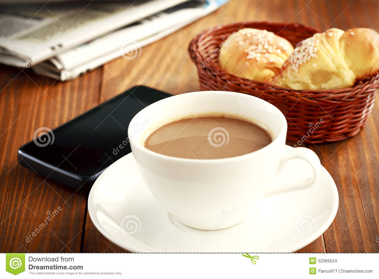 Coffee At Work ~ Coffee break at work stock photo image of leisure