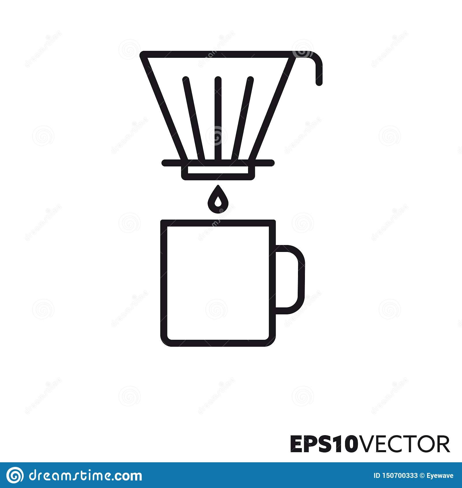 Drip Coffee Filter Stock Illustrations 774 Drip Coffee Filter Stock Illustrations Vectors Clipart Dreamstime