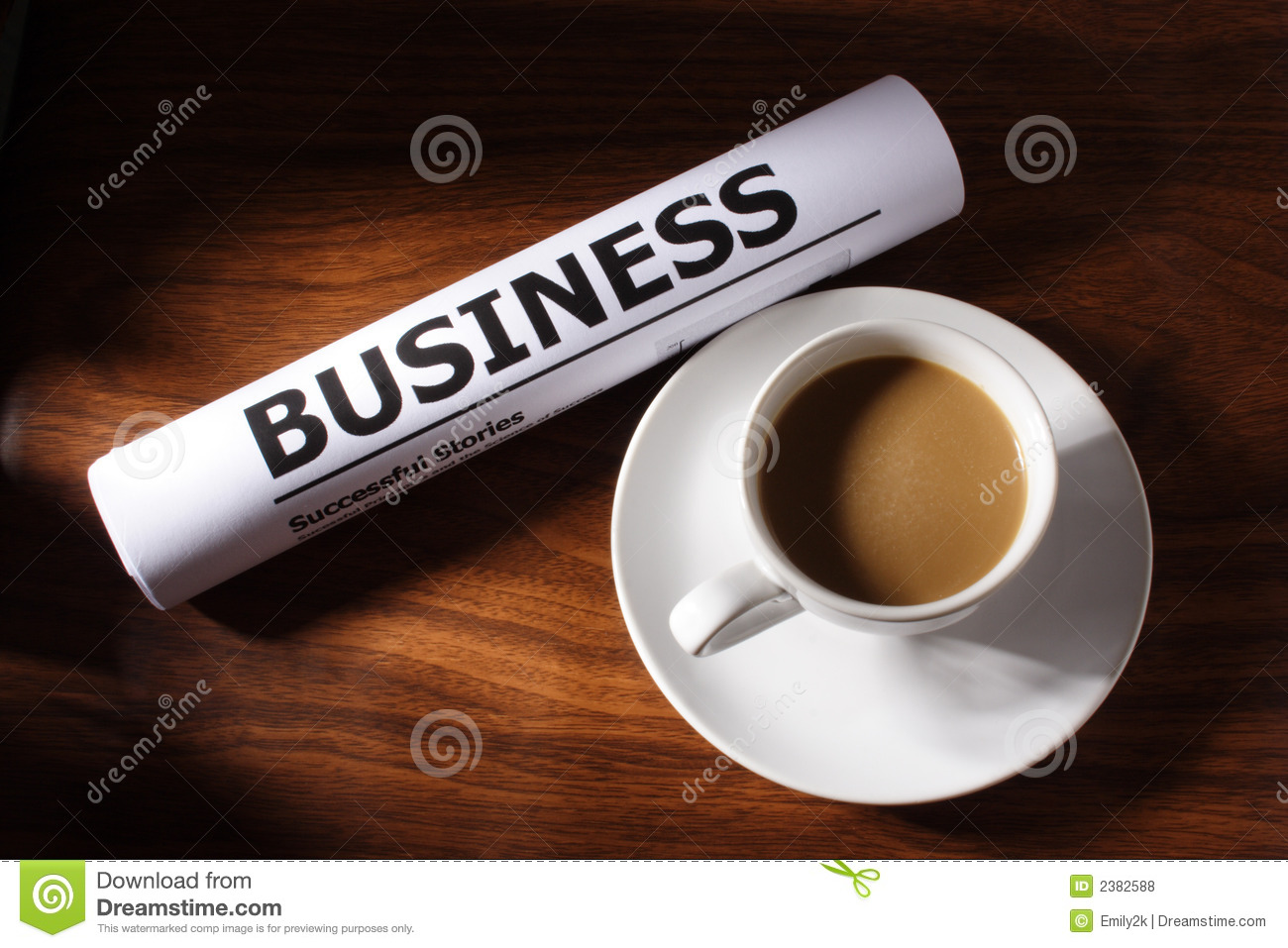 Coffee business file on table stock photo image 2382588 for Coffee business