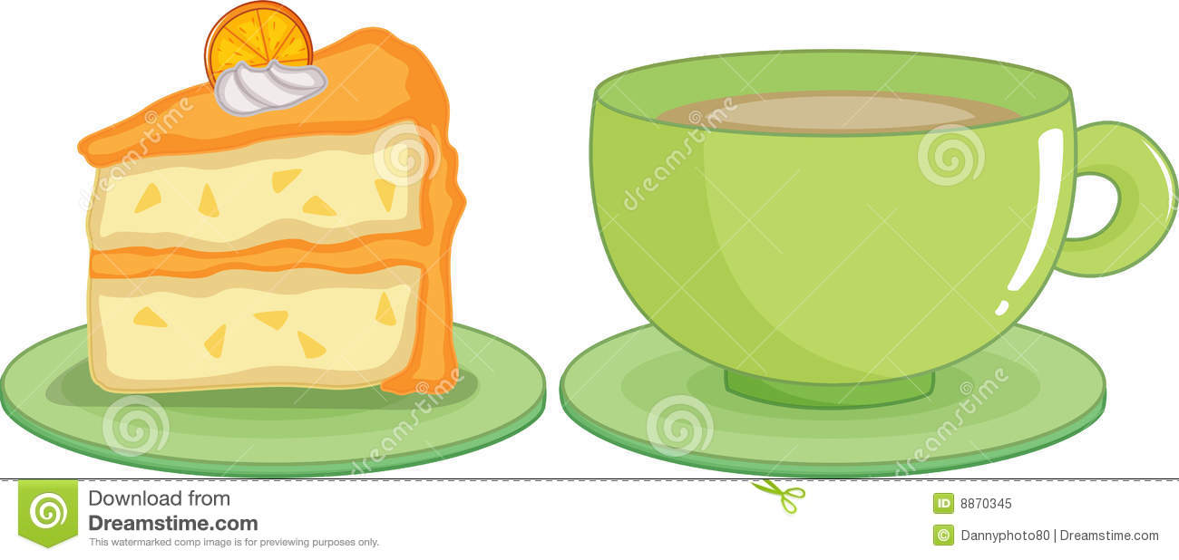 clipart coffee and cake - photo #48