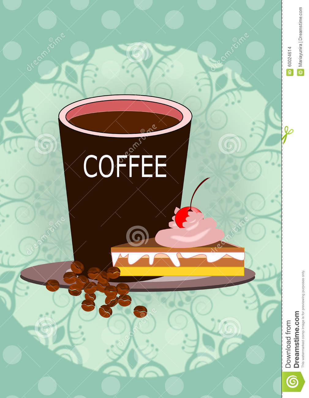 clipart coffee and cake - photo #35