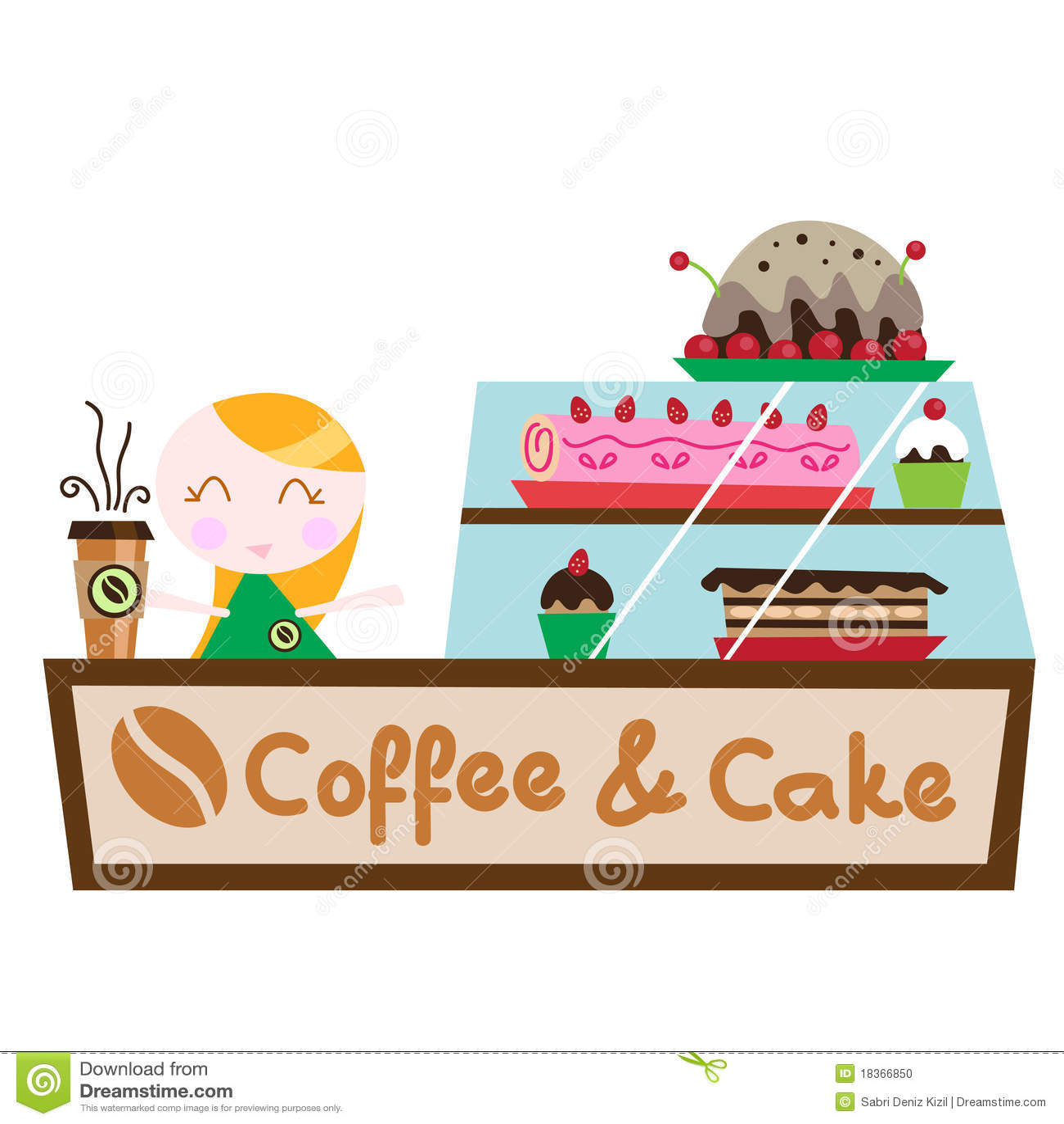 Raw Coffee Cake