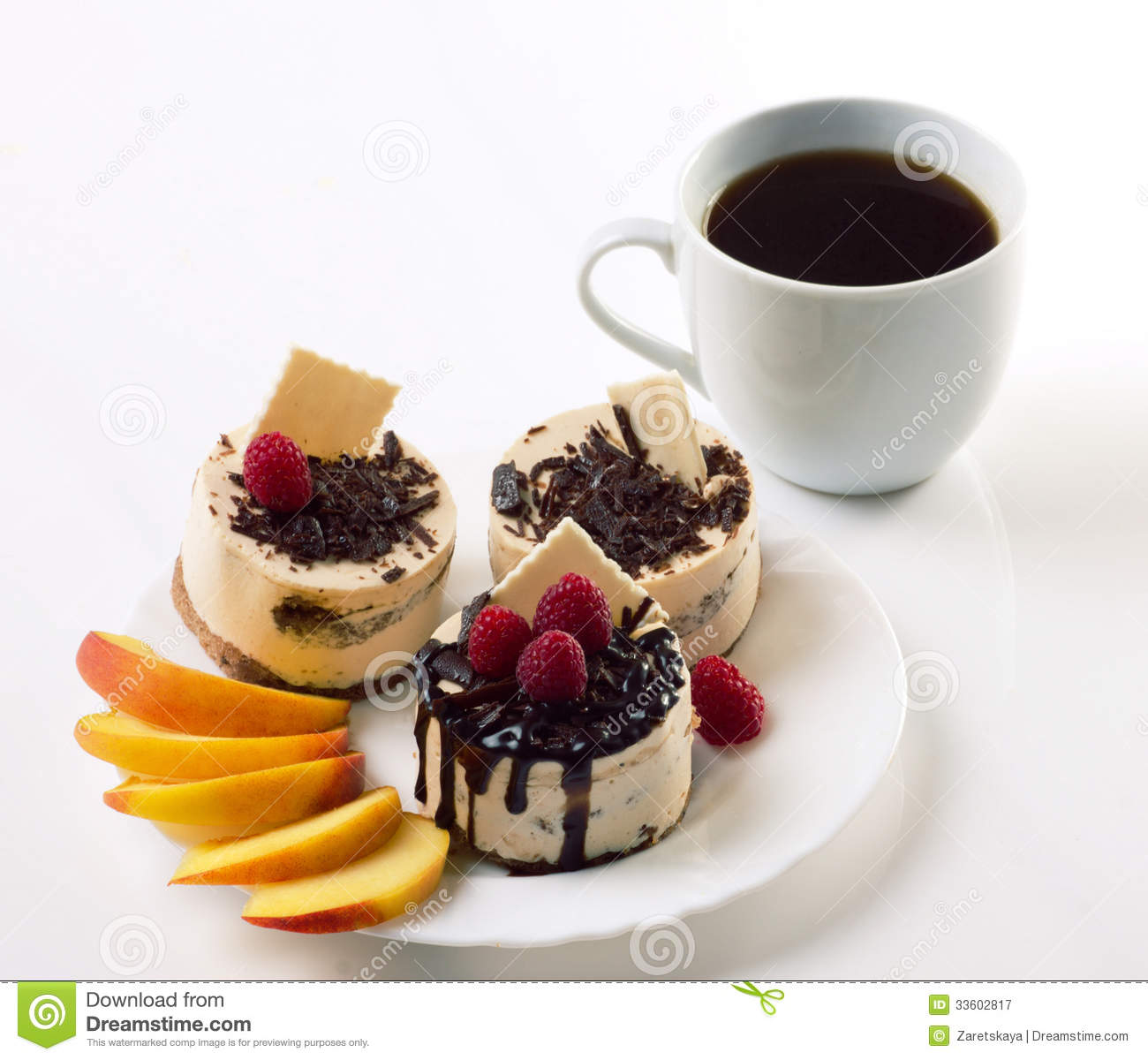 coffee and cakes royalty free stock photography image 33602817