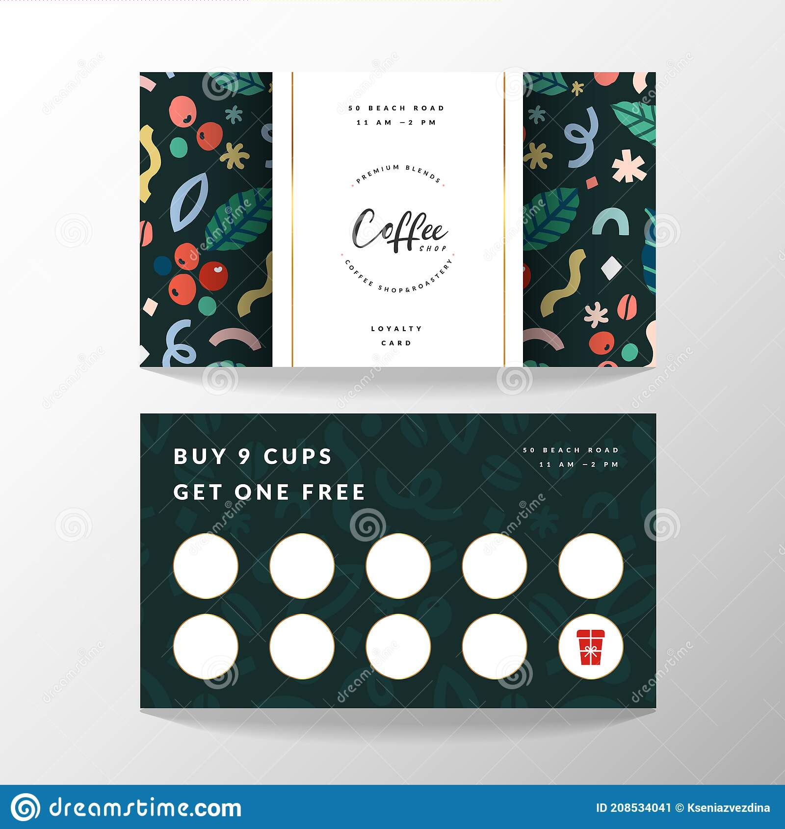 Loyalty Card Template Stock Illustrations – 21,0210 Loyalty Card Throughout Customer Loyalty Card Template Free