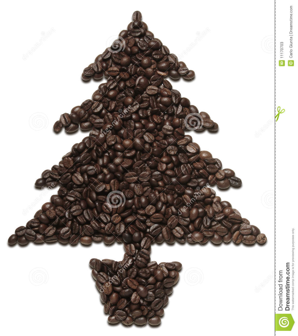 Coffee Christmas Tree.Coffee Christmas Tree Stock Image Image Of Brown Aromatic