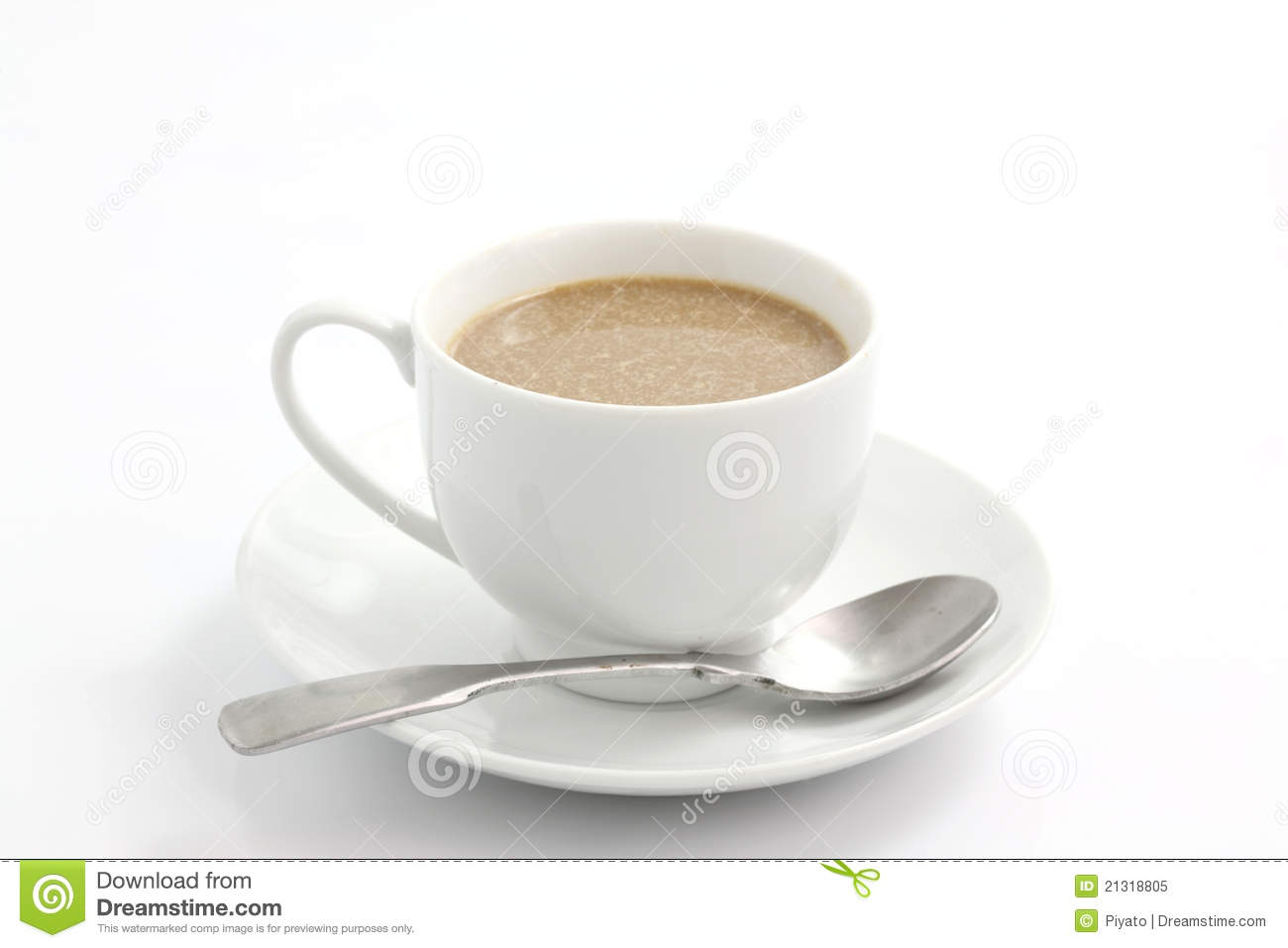 Coffee Coffee With Milk Royalty Free Stock Photo - Image: 21318805