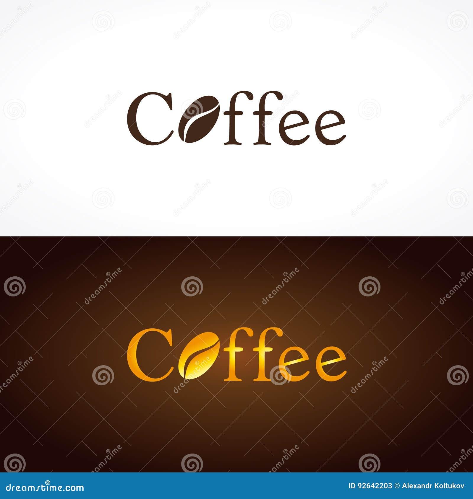 Coffee Company Logo Stock Vector Image Of House Break