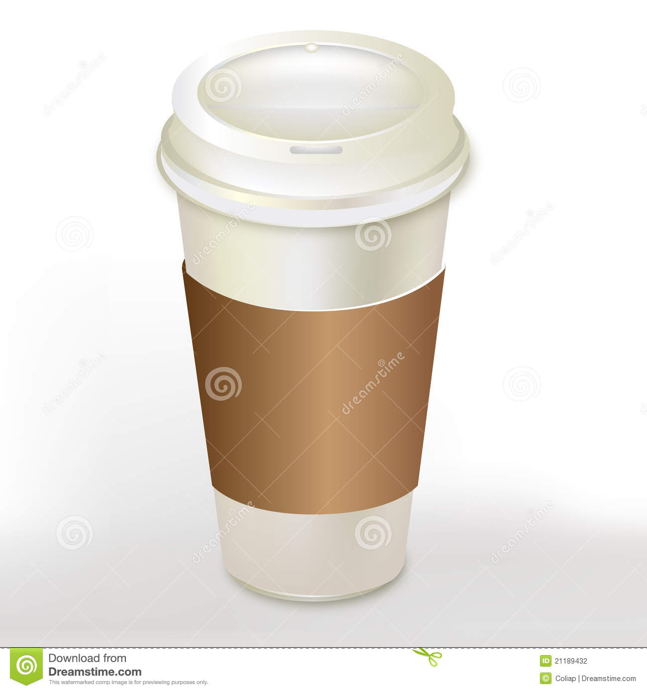 Coffee container with cap