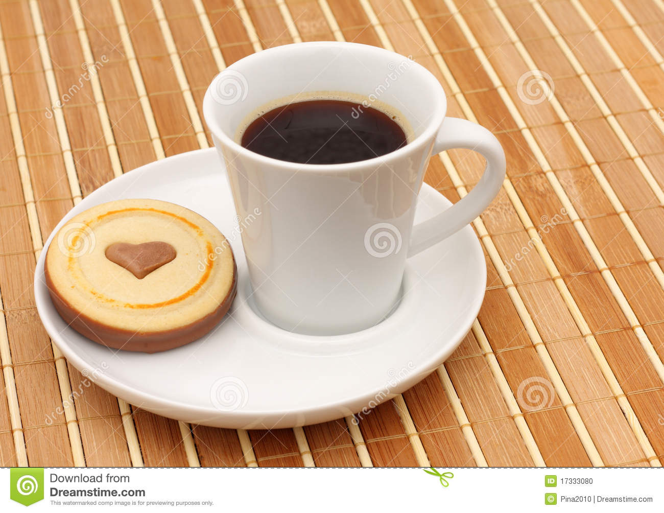 Coffee And Cookies Stock Photo - Image: 17333080