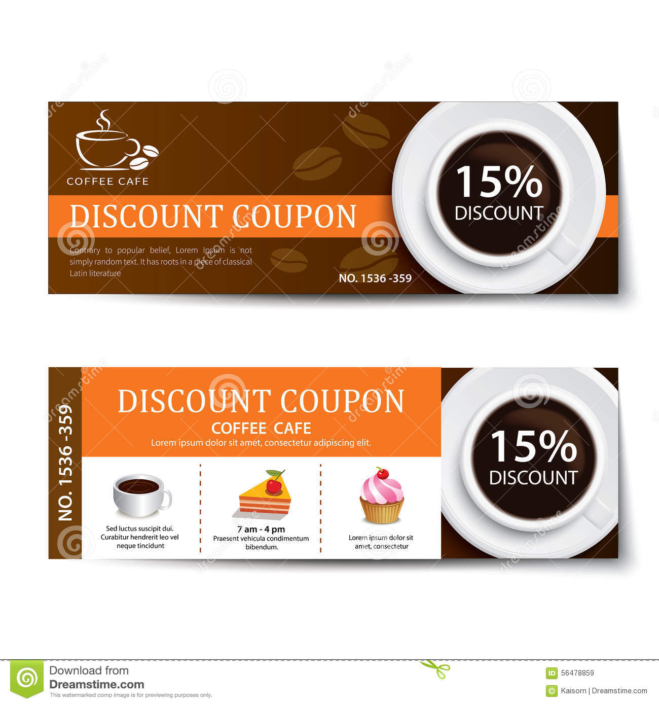 Discount coupon for