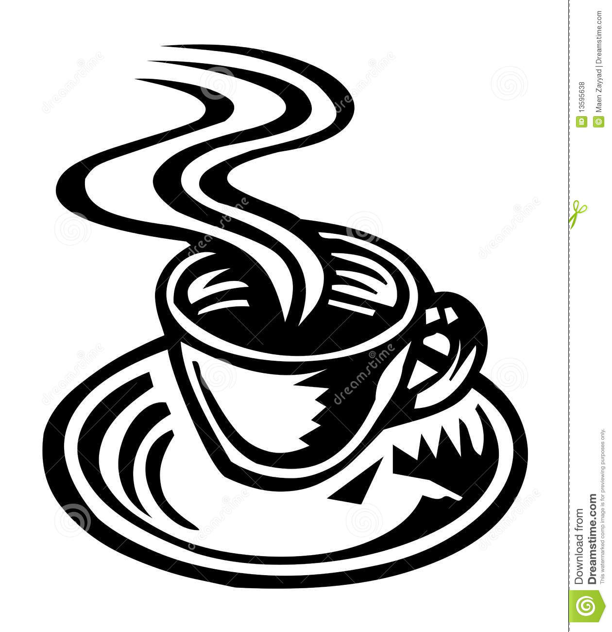 Coffee Cup Royalty Free Stock Photos - Image: 13595638