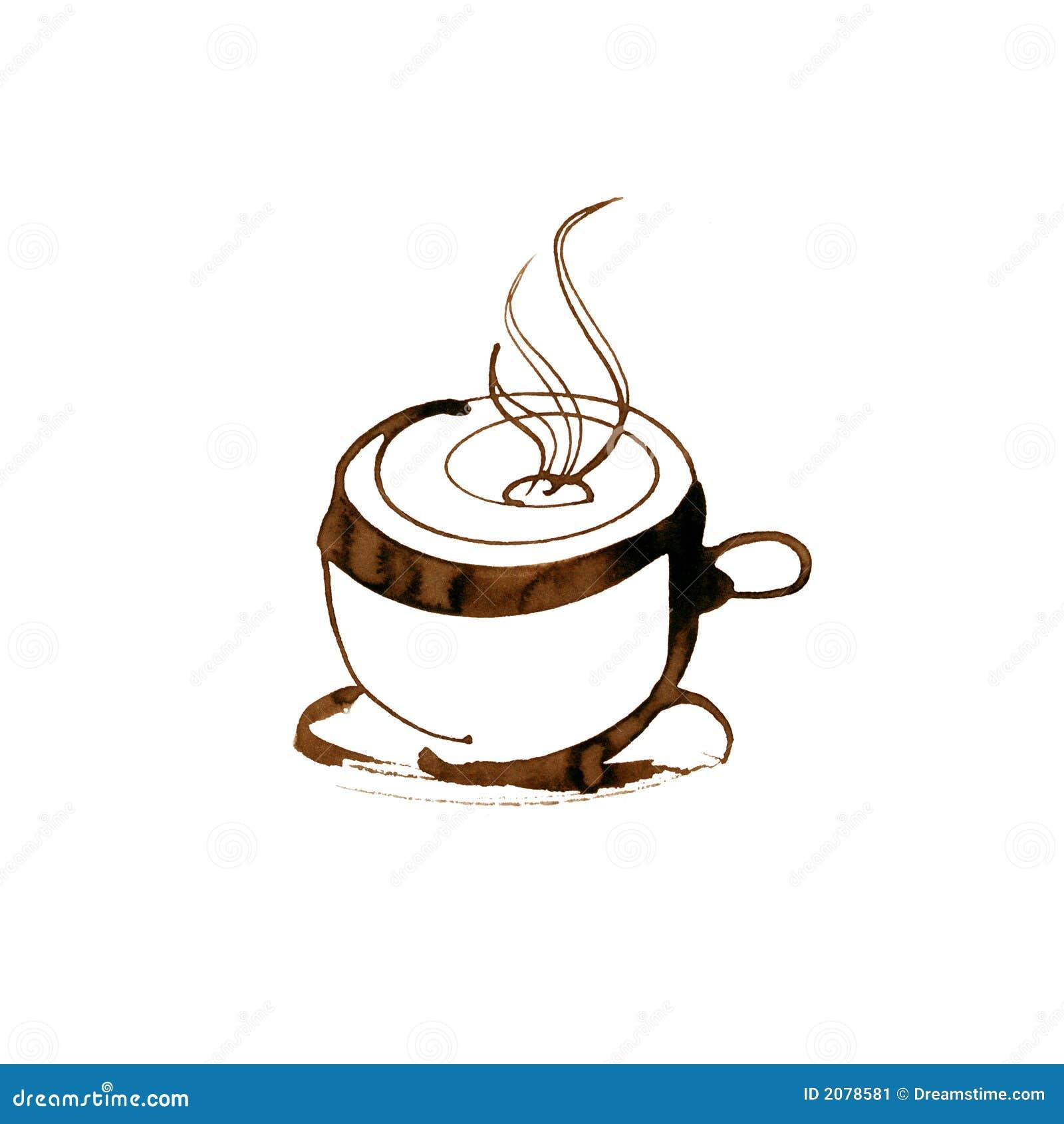 Coffee Cup Stock Illustration. Illustration Of Aromatic