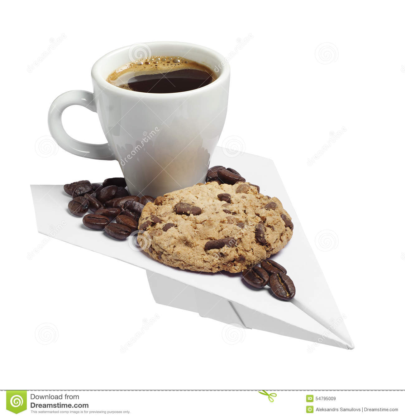 Cookie Coffee Cups Coffee Cup Cookie
