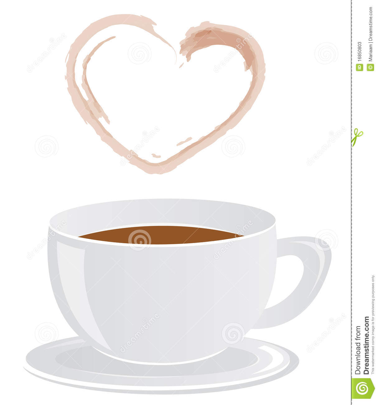 Steam coffee cup - 23928