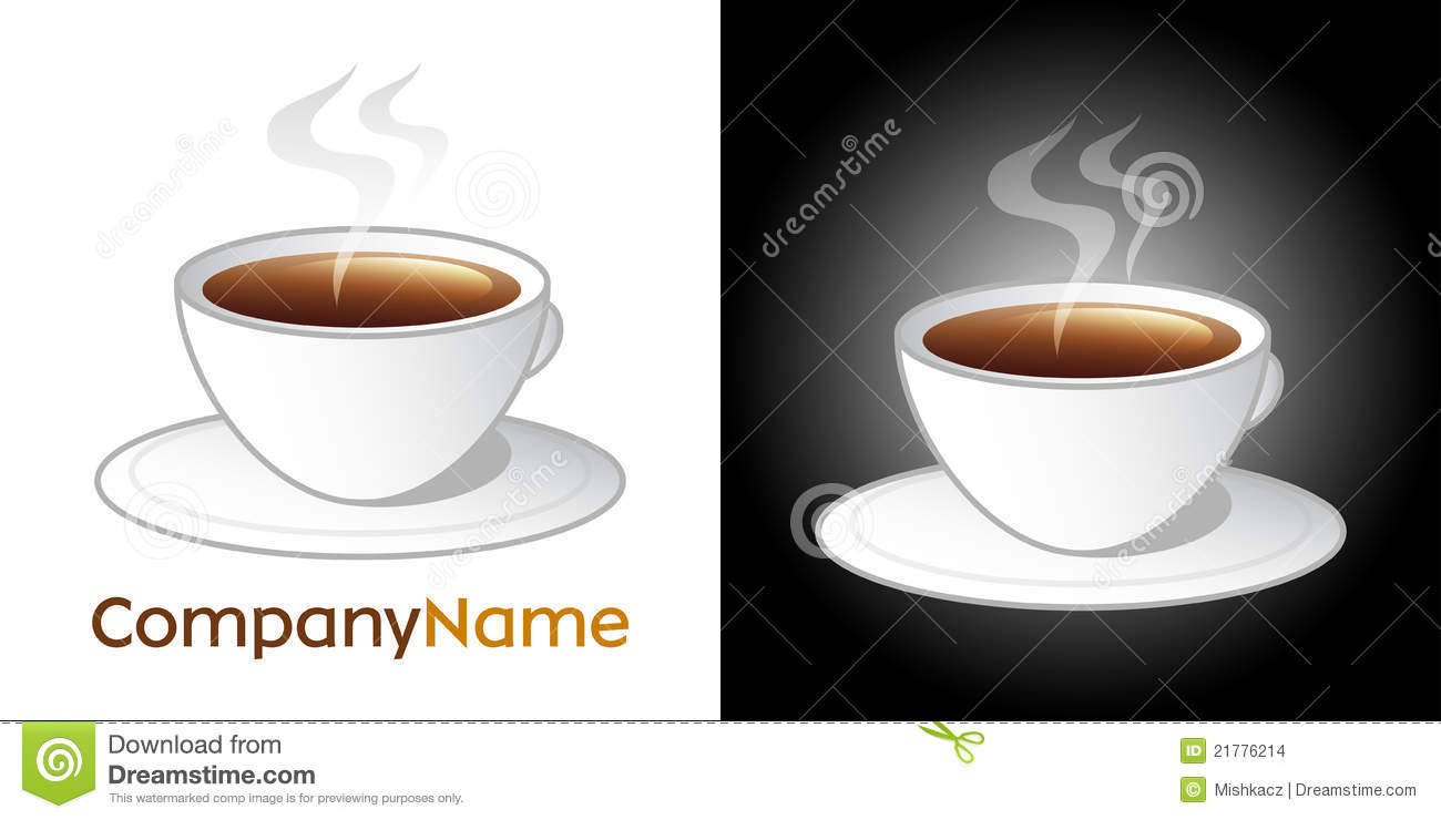 coffee cup icon and logo design stock images image 21776214 cafeteria clipart cafeteria clip art kids
