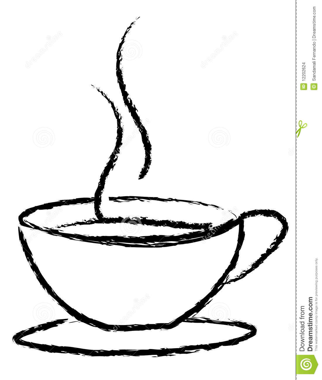 Coffee Cup Logo Stock Images - Image: 12202624