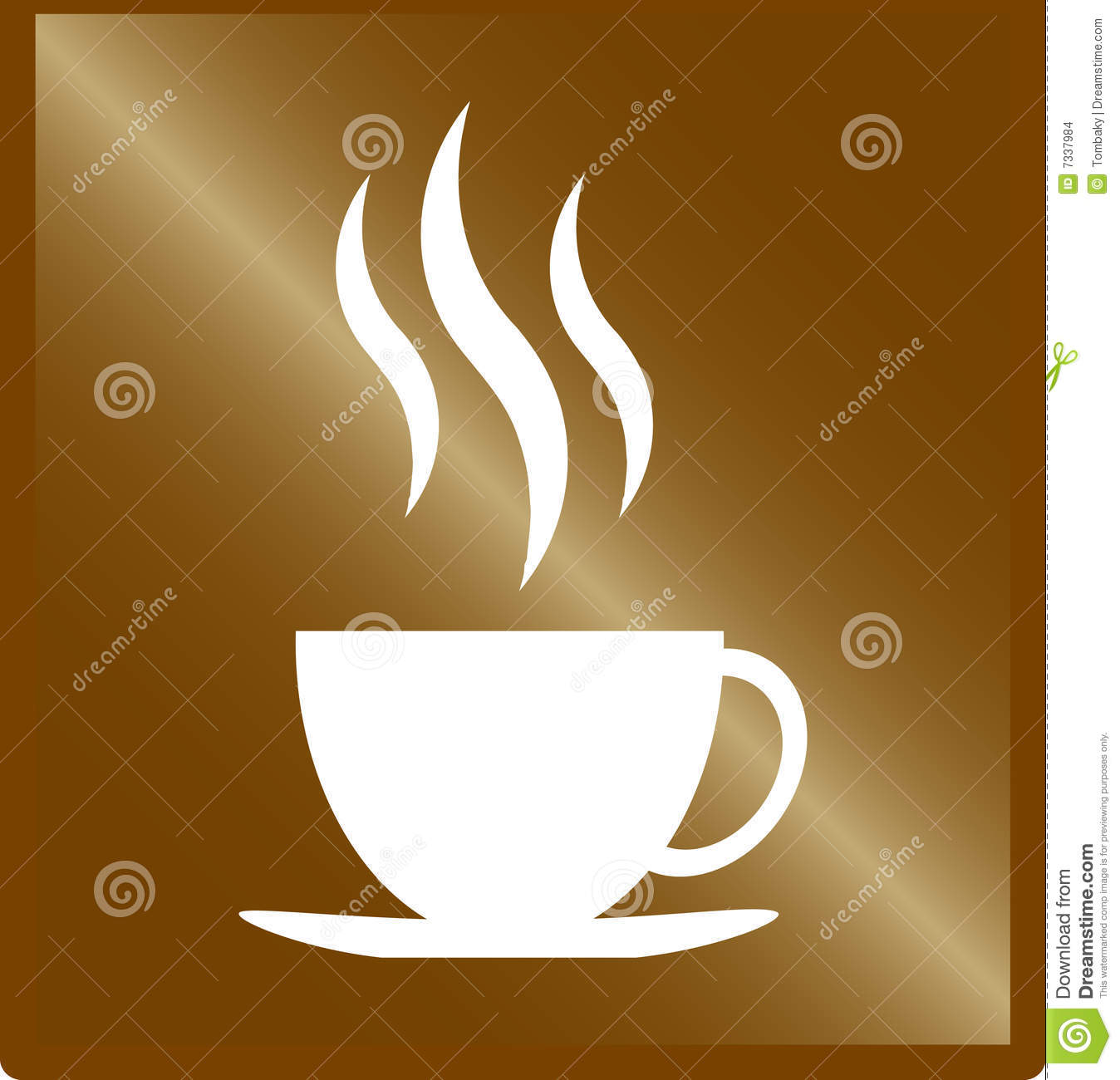 Coffee Cup Vector Stock Images - Image: 7337984