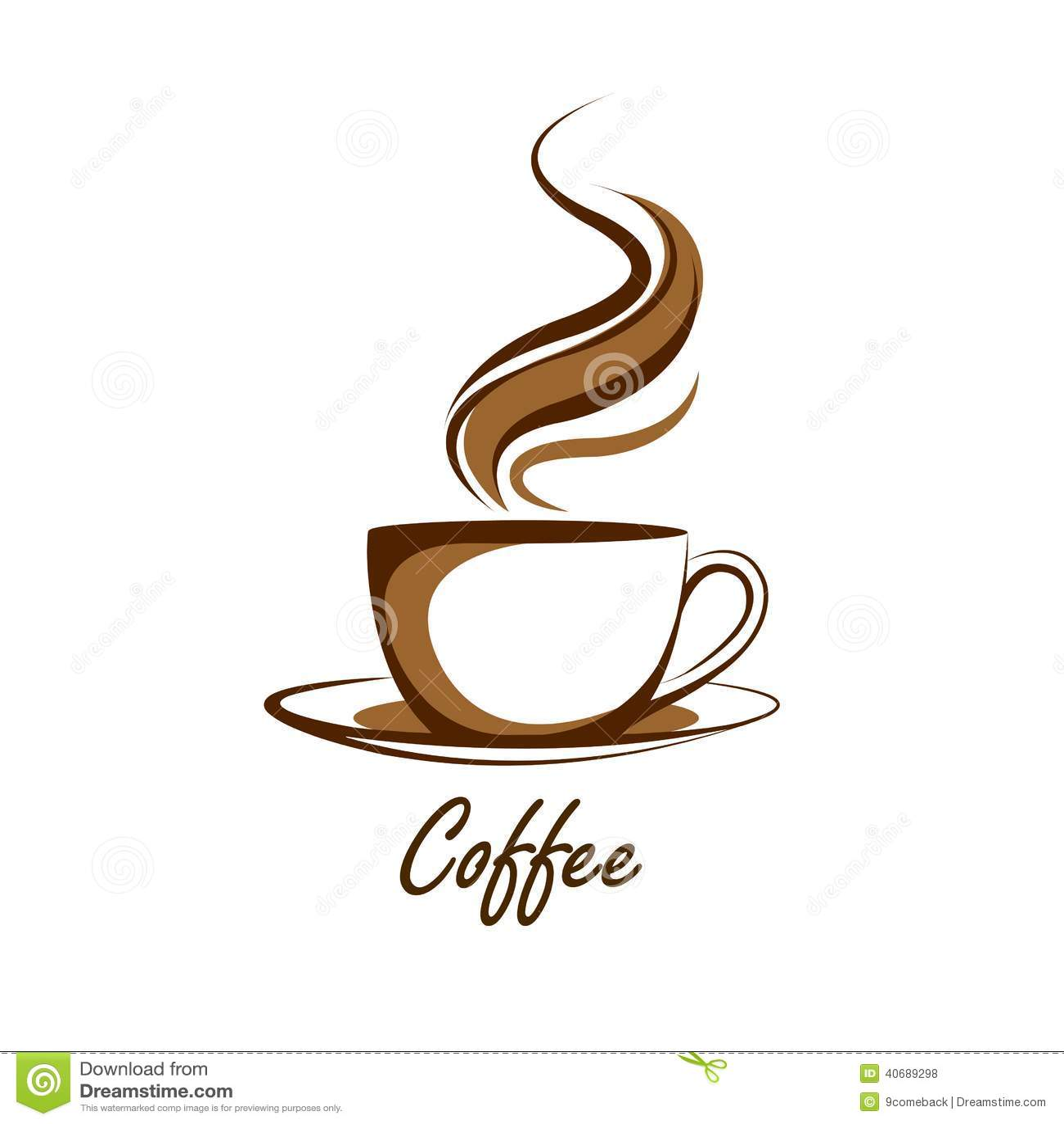 Coffee Cup Vector Stock Vector - Image: 40689298
