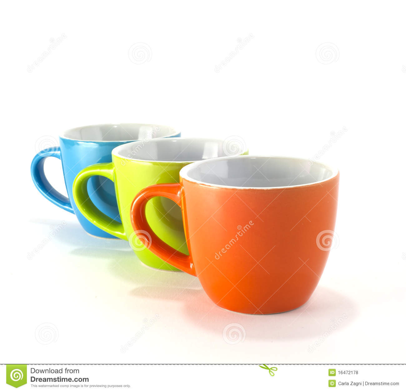 coffee cups colored 16472178 Small Coffee Cups Colorful Coffee Cups Royalty Free Stock Photo Image